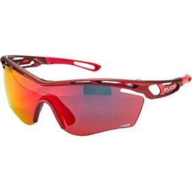 Rudy Project Tralyx Slim Glasses merlot matte/multilaser red